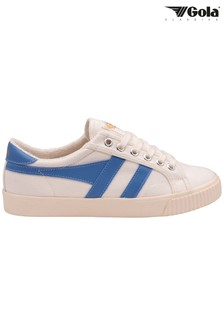 Gola Tennis Mark Cox Canvas Lace-Up Trainers