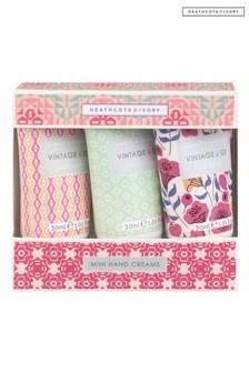 Vintage & Co FABRIC & FLOWERS Mini Hand Creams