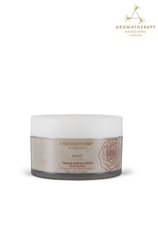Aromatherapy Associates Rose Triple Exfoliator 200ml