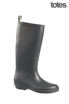 Totes Womens Claire Tall Wellie Boot