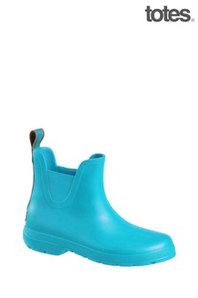 Totes Womens Chelsea Ankle Rain Boot