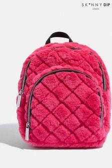 Skinnydip Mini Alba Fur Backpack