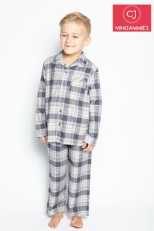 Cyberjammies Thomas Longsleeve Shark Printed Pyjama Set
