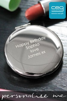 Personalised Luxury Compact Mirror by CEG Collection