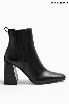 Topshop Harbour Chelsea Ankle Boot