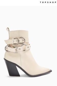 Topshop Hadria Western Ankle Boot