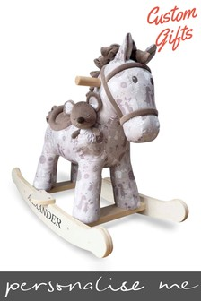 Personalised Rocking Horse 9MTH by Custom Gifts