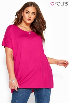 Yours Dipped Hem Top