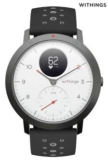 Withings Steel HR Sport - Multi-Sport Hybrid Smartwatch - 40mm