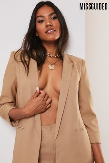 Missguided Co Ord Price Point Basic Blazer