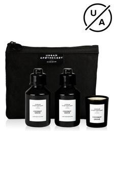 Urban Apothecary 3pcs Coconut Grove Luxury Mini Bath & Body Gift Set