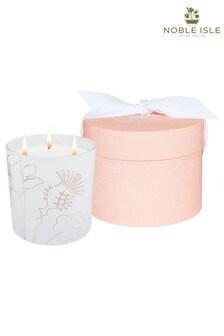 Noble Isle Creme de Rhubarb 3 Wick Candle