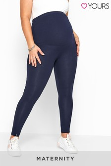 Yours Bump It Up Maternity Essential Leggings With Comfort Panel