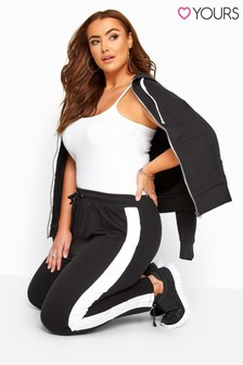 Yours Curve Joggers With Side Stripe