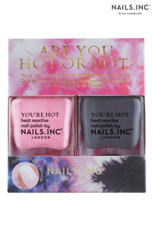 NAILS INC Are You Hot Or Not Duo - (Worth £30)