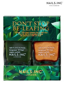 NAILS INC Dont Stop Be Leafing Duo (Worth £30)