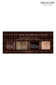 NAILS INC I Like You A Choco-Lot Quad - (Worth £44)