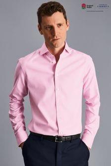 Charles Tyrwhitt Twill Cutaway Slim Fit Shirt