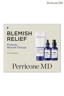 Perricone MD Blemish Relief Prebiotic Blemish Therapy 90 Day Regimen (worth £122)