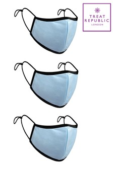 Treat Republic Comfort Fit Face Covering  Pack of 3
