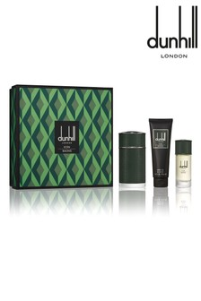 Dunhill London Icon Racing Eau de Parfum 100ml, Shower Gel 90ml & Eau de Parfum 30ml Travel Spray Gift Set