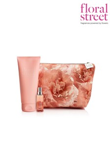Floral Street Wonderland Peony Beauty Bag Gift Set