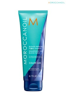 Moroccanoil Blonde Perfecting Purple Shampoo 200ml