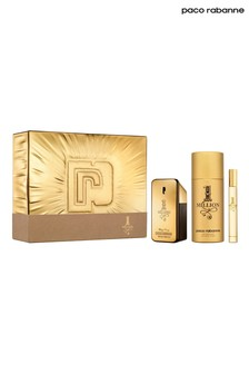 Paco Rabanne 1 Million Eau de Toilette 50ml, Deodorant 150ml and Travel Spray 10ml Gift Set