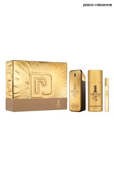 Paco Rabanne 1 Million Eau de Toilette 100ml, Deodorant 150ml and Travel Spray 10ml Gift Set
