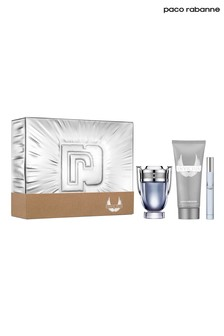 Paco Rabanne Invictus Eau de Toilette 50ml, Shower Gel 100ml and Travel Spray 10ml Gift Set