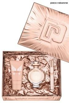 Paco Rabanne Olympea Eau de Parfum 50ml, Body Lotion 75ml, Travel Spray 10ml Gift Set
