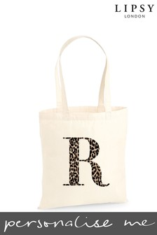 Personalised Lipsy Reuseable Cotton Bag by Koko Blossom