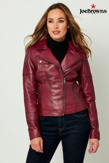 Joe Browns Croc Leather Jacket