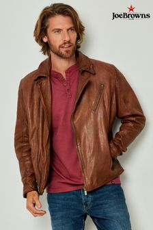Joe Browns Burner Leather Jacket