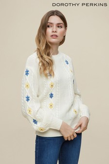 Dorothy Perkins Embroidered Jumper