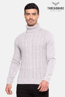 Threadbare Roll Neck Jumper With Wool