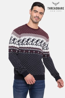 Threadbare Crew Neck Festive Jumper