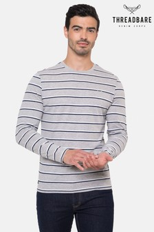 Threadbare Justin Long Sleeve Stripe Top