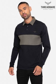 Threadbare Cotton Rugby Shirt
