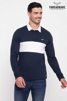 Threadbare Cotton Rugby Shirt