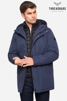Threadbare Mock Layer Jacket