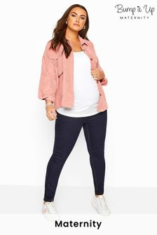 Yours Bump It Up Maternity Skinny Jeans With Comfort Panel