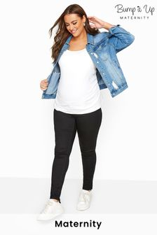 Bump It Up Bump It Up Maternity Skinny Jeans With Comfort Panel