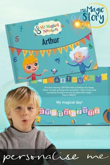 Personalised My Magical Numbers Book by Story Tailors