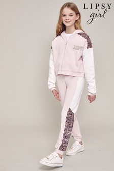 Lipsy Branded Hoodie and Jogger Set