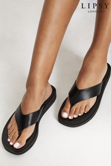 Lipsy Toe Thong flatform Wedge Sandal