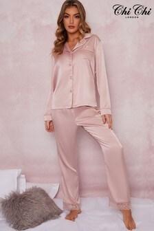 Chi Chi London Sophie Long Pyjama Set
