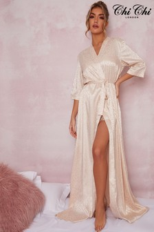 Chi Chi London Chloe Maxi Kimono Robe