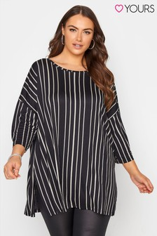 Yours Striped Spotted Tunic