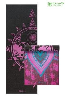 Gaiam 6mm Yoga Mat Tribal Wisdom